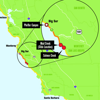 Big Sur tourism grapples with Pacific Coast Highway closure